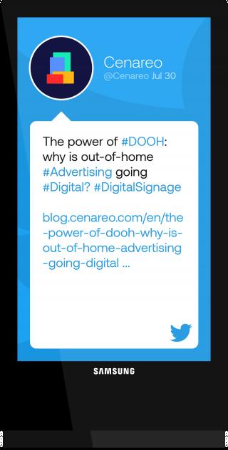 Digital Signage Software | Digital Display Solutions | Cenareo